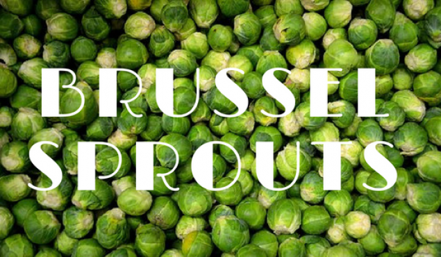 Brussel Sprouts a delicious comeback!